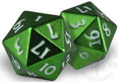 HEAVY METAL D20 Dice Set - Green (85340)