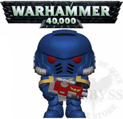Funko Pop! Games Warhammer 40k Ultramarines Intercessor