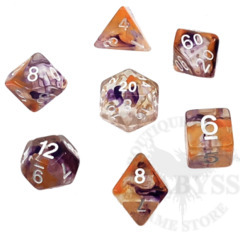 7 Polyhedral Abyss Dice Set Combo-Breaker - AD039