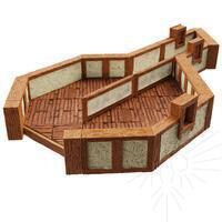 4D Warlock Tiles - Town & Village 3: Angles ( 16513 )