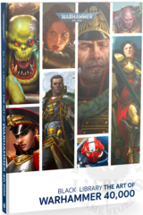 Black Library: The Art of Warhammer 40,000 (hardcover) ( BL2845 )
