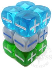 12 Fudge D6 Fate Dice Atomic Robo - EHP9006