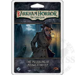 Arkham Horror LCG - Barkham Horror: The Meddling of Meowlathotep