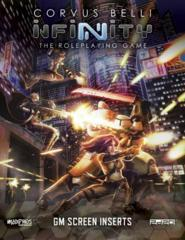 Infinity RPG - GM Screen + Code: Infinity