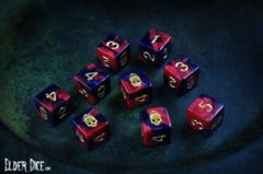 Elder Dice - The Mark of Necronomicon 9 D6 ( ED6-L01 )