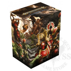 Ultimate Guard Deck Case 80+ Warhammer Chaos vs Destruction