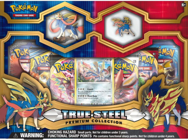 Pokemon True Steel Premium Collection Zacian