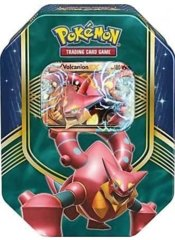 Battle Heart Tin - Volcanion-EX