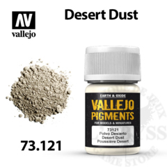Vallejo Pigments - Desert Rust 35ml - Val73121