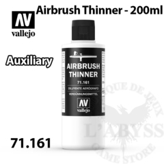 Vallejo Auxiliary - Airbrush Thinner 200ml - Val71161