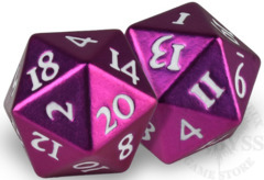 HEAVY METAL D20 Dice Set - Pink (85339)