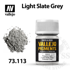 Vallejo Pigments - Light Slate Grey 35ml - Val73113