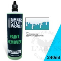 GSW Auxiliary - Paint Remover 240ml (2103)