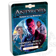 Genesys - Adversary Decks: Runner, Mercs, and Criminals