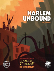 Call Of Cthulhu 7th - Harlem Unbound
