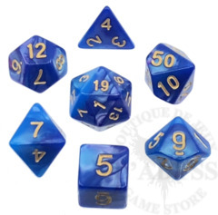 7 Polyhedral Abyss Dice Set III Empress - AD008