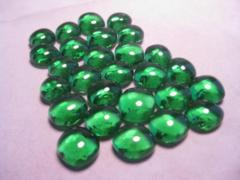 Glass Gaming Stones - Green 20+ (chx01125)