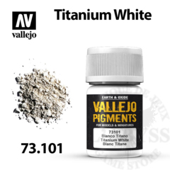 Vallejo Pigments - Titanium White 35ml - Val73101