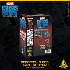 Marvel Crisis Protocol - Deadpool & Bob, Agent of Hydra ( CP45 )