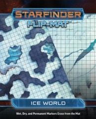 Starfinder Flip-Mat - Ice World