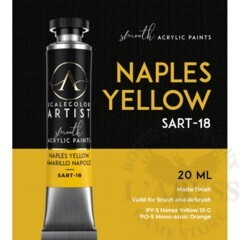Scale Artist - Naples Yellow 20ml ( SART-18 )