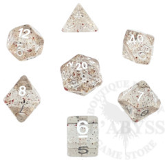 7 Polyhedral Abyss Dice Set Greed - AD034