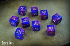 Elder Dice - 9 D6 The Sigil of the Dreamlands ( ED6-D01 )