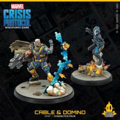 Marvel Crisis Protocol - Cable & Domino ( CP47 )