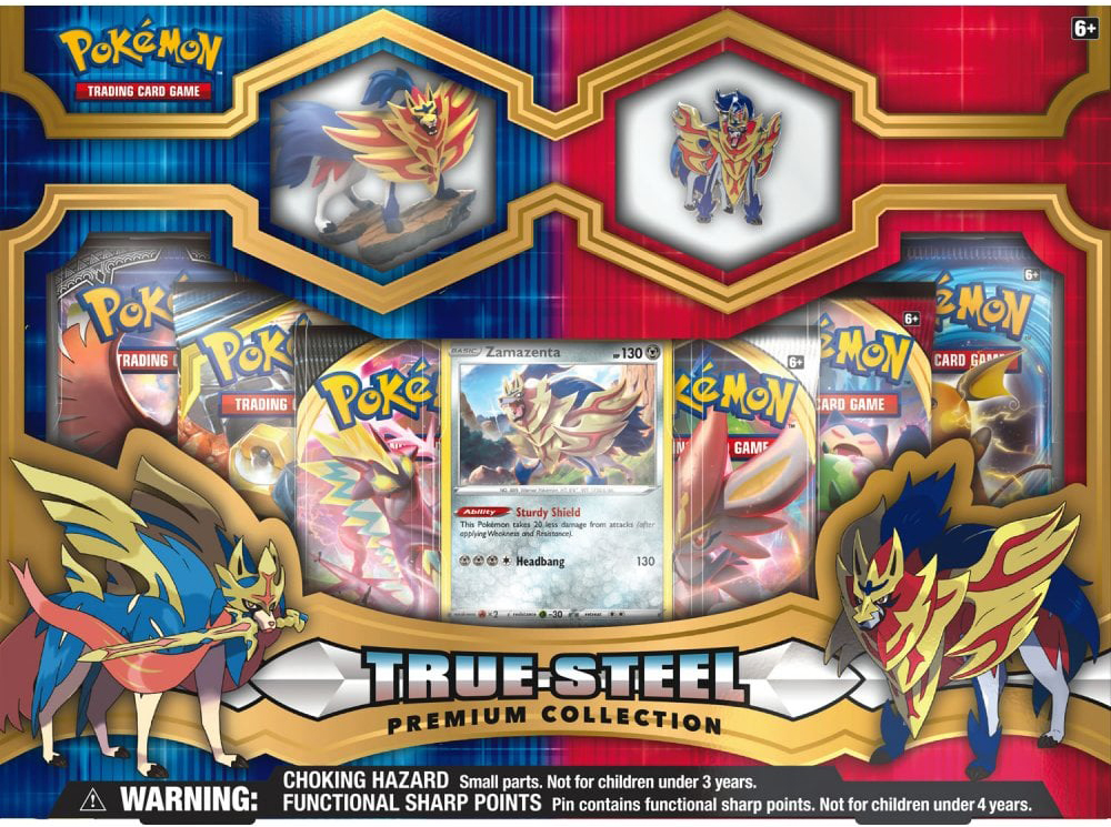 Pokemon True Steel Premium Collection Zamazenta