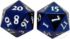 HEAVY METAL D20 Dice Set - Blue (85785)
