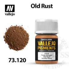 Vallejo Pigments - Old Rust 35ml - Val73120