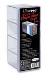 Ultra PRO Four-Compartment card box