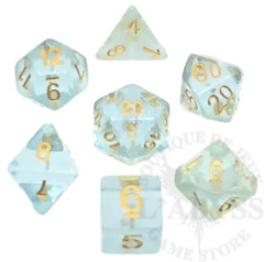 7 Polyhedral Abyss Dice Set Eyes of the Abyss - AD042