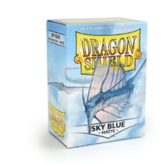 Dragon Shield Box of 100 in Matte Sky Blue