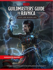 5th Edition Guildmasters' Guide to Ravnica Maps and Miscellany