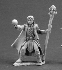 Dark Heaven Legends: 03599: Drake Whiteraven, Young Mage