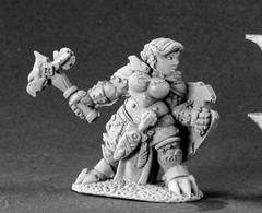 Dark Heaven Legends: 03413: Nalila Goldhammer, Female Dwarf Paladin