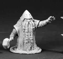Dark Heaven Legends: 03663: Grimm Grayrune, Dwarf Vizier