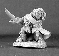 Dark Heaven Legends: 03071: Hellakin Goregutter, Halfling Thief