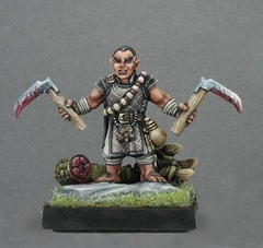 Dark Heaven Legends: 02709: Biff, Halfling Monk