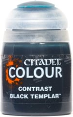 (29-38) Citadel Paint - Contrast - Black Templar (18ML)