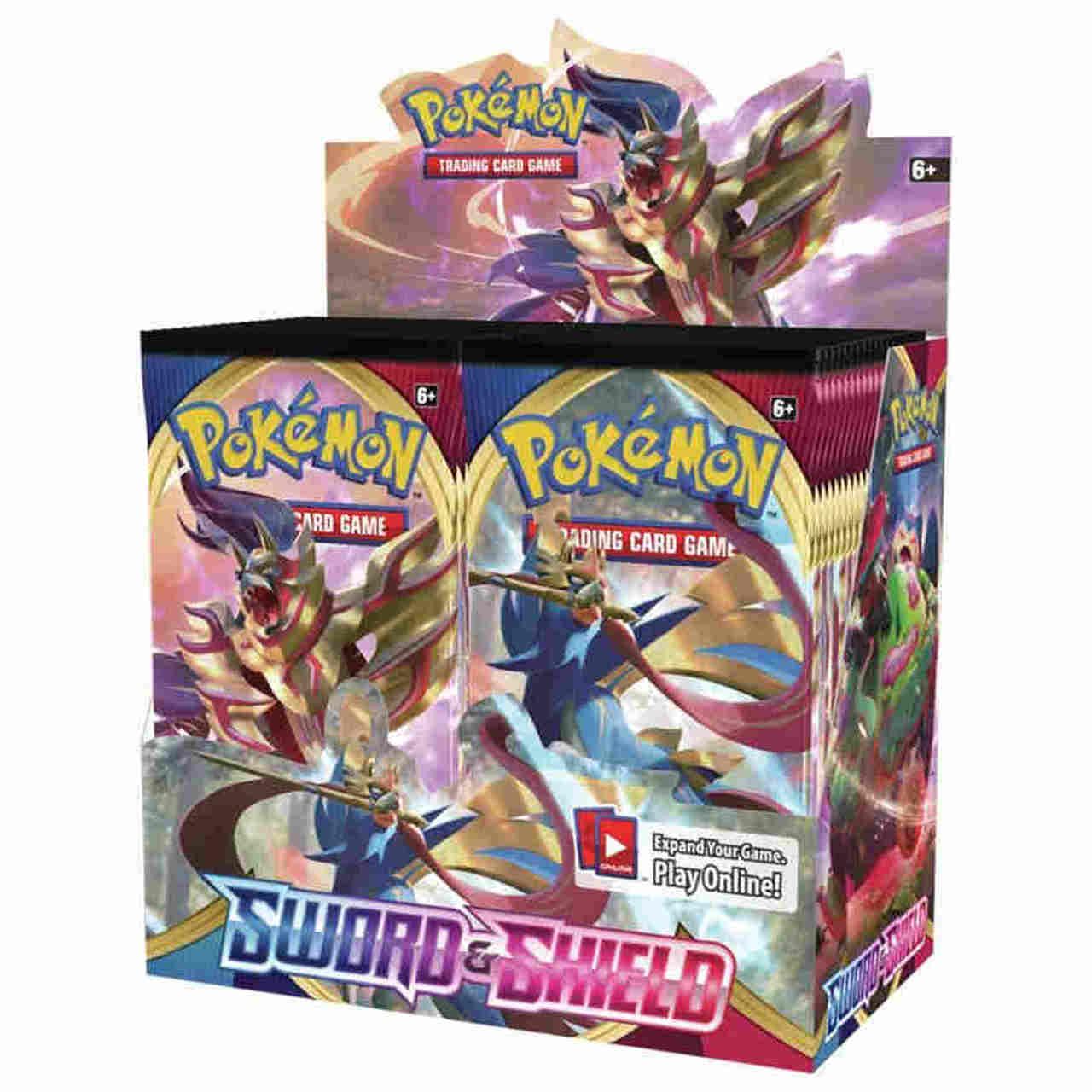 Pokemon Sword & Shield Booster Box