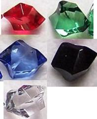 20 Acrylic Crystals - Mix