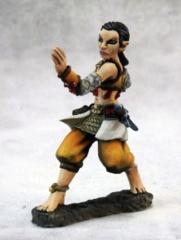 Dark Heaven Legends: 03654: Esmeria, Female Half Elf Monk
