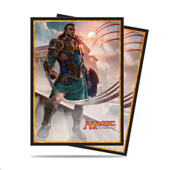 Magic the Gathering Amonkhet Deck Protector Sleeves - Gideon of the Trials (80)