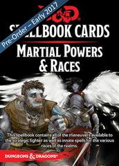 5th Edition D&D Spellbook Cards - Martial Powers & Races
