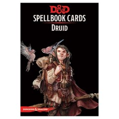 5th Edition D&D Spellbook Cards - Druid