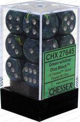 CHX 26645 Gemini Black-Gray/Green 16mm D6 (12)