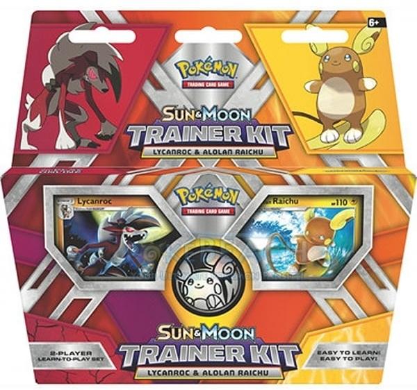 Pokemon Sun & Moon Trainer Kit - Lycanroc & Alolan Raichu