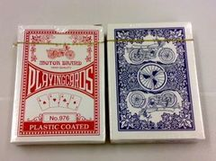 Motor Brand Playing Cards